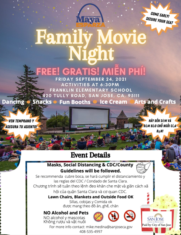 Outdoor Movie Night & Mobile Vaccination Clinic Thumbnail Image