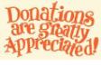 Donations needed.