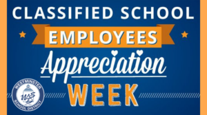 Classified School Employees Week