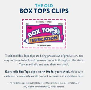 Old Box Tops Collection