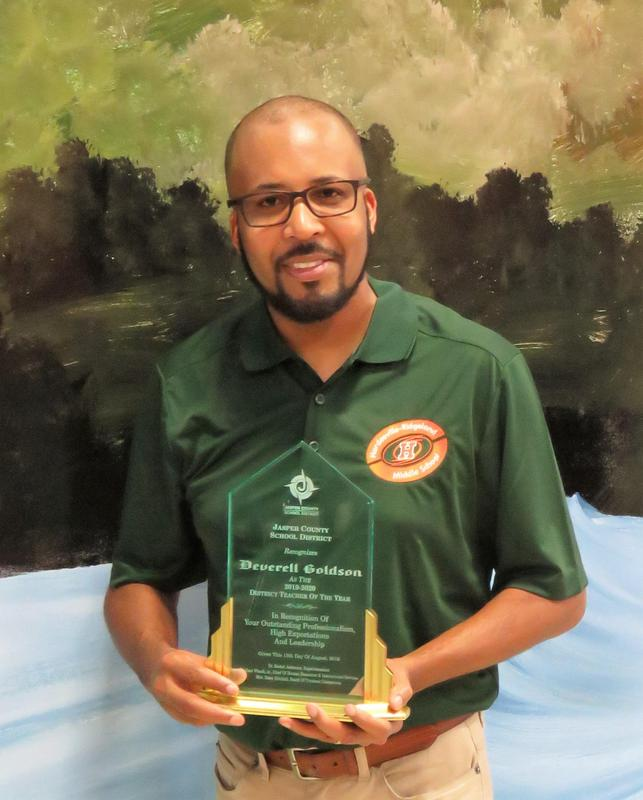 Goldson selected as 2019-2020 District Teacher of the Year