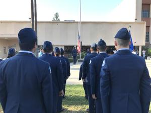 Bakersfield High School JROTC takes part in annual September 11 memorial tribute