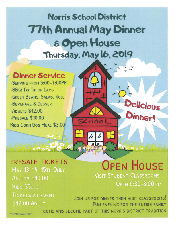 May Dinner & Open House Thumbnail Image