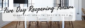 Reopening Forum