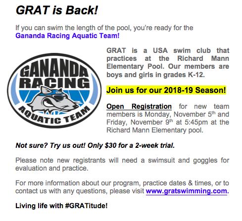 GRAT Registration