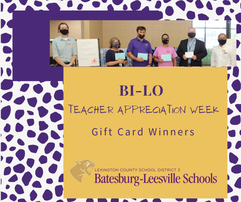 BI-LO Honors Lexington Three Teachers