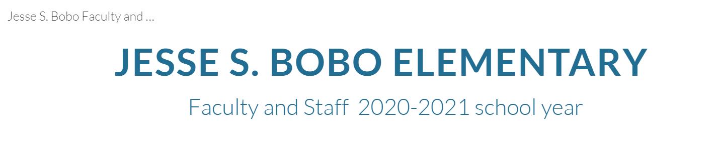 Jesse Bobo Staff Banner Click here