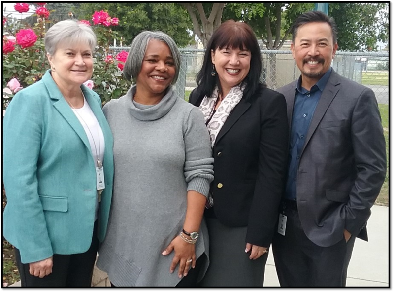 Mrs. Clark Receives Leadership Award Featured Photo