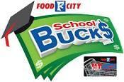 Food City school bucks logo