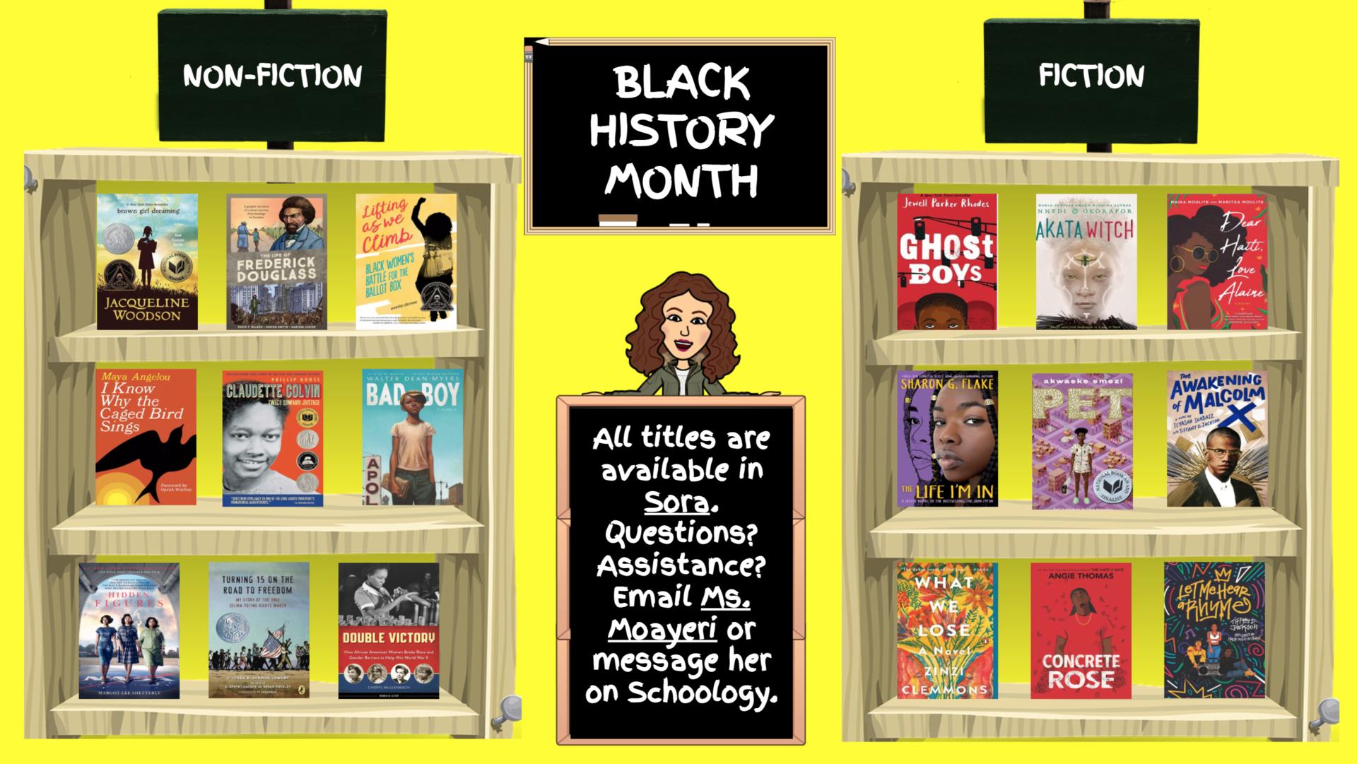 Black History Month Titles