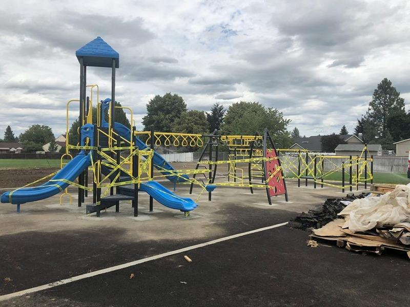 Shiloh Hills Playground - July 27, 2019