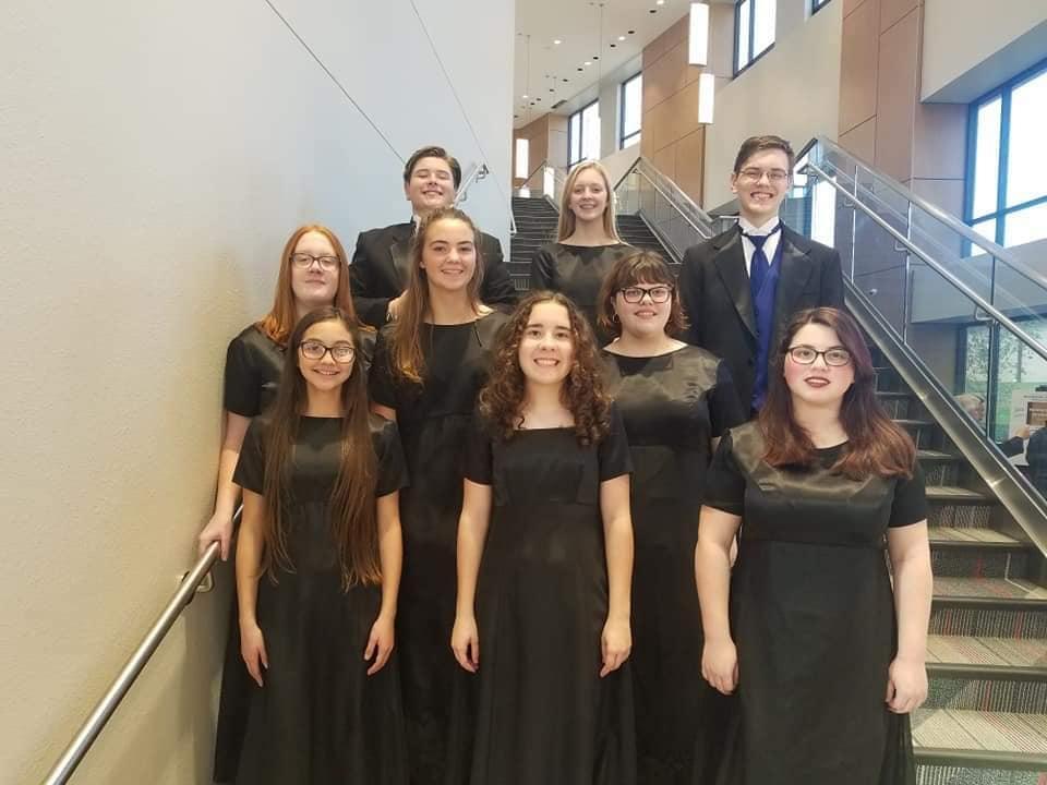 All-Region Honor Choir Members