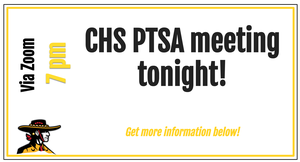 PTSA meeting at 7 pm tonight, 9/16
