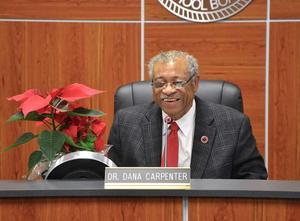 a photo of Dr. Dana Carpenter, Board Member Emeritus