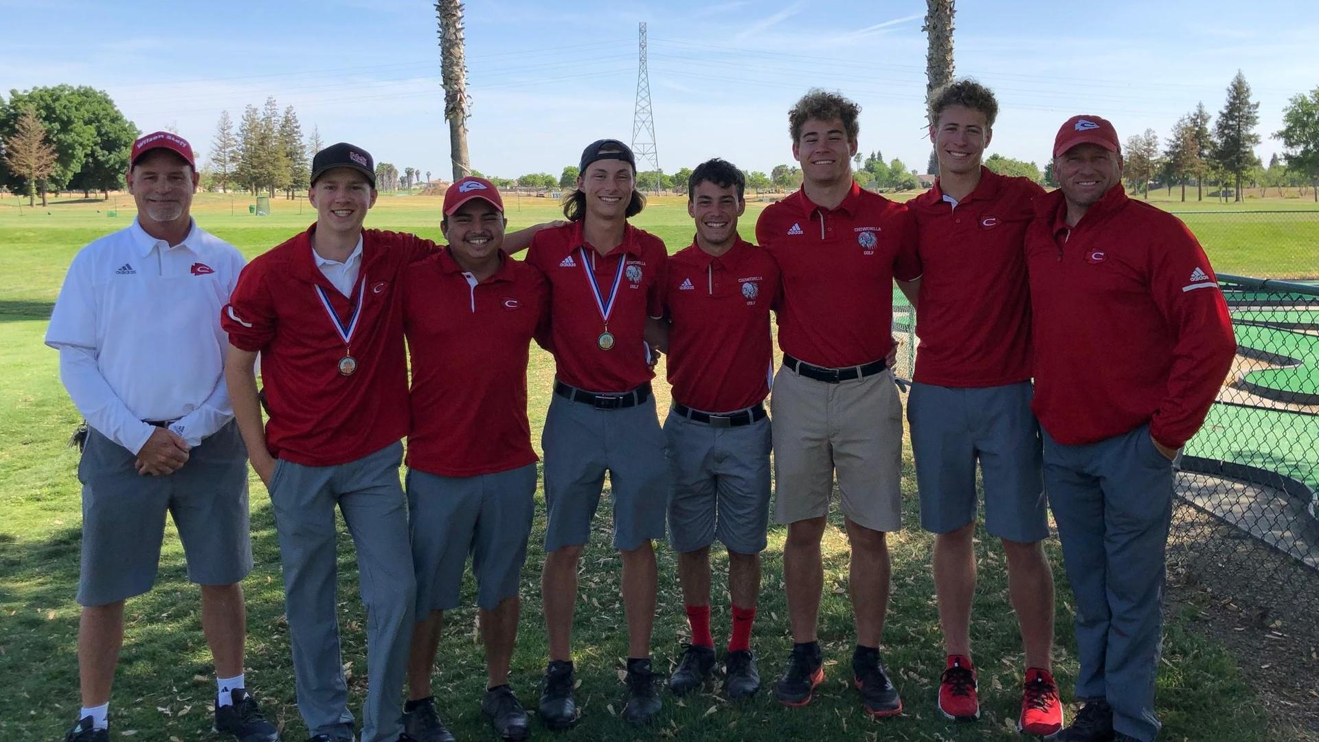 Golfers winning the league championship