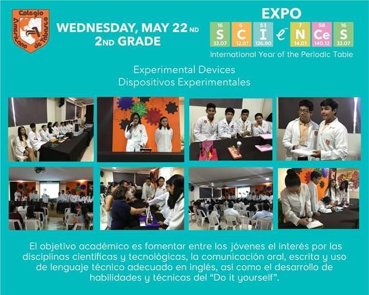 Expo Sciences 2° de secundaria Featured Photo