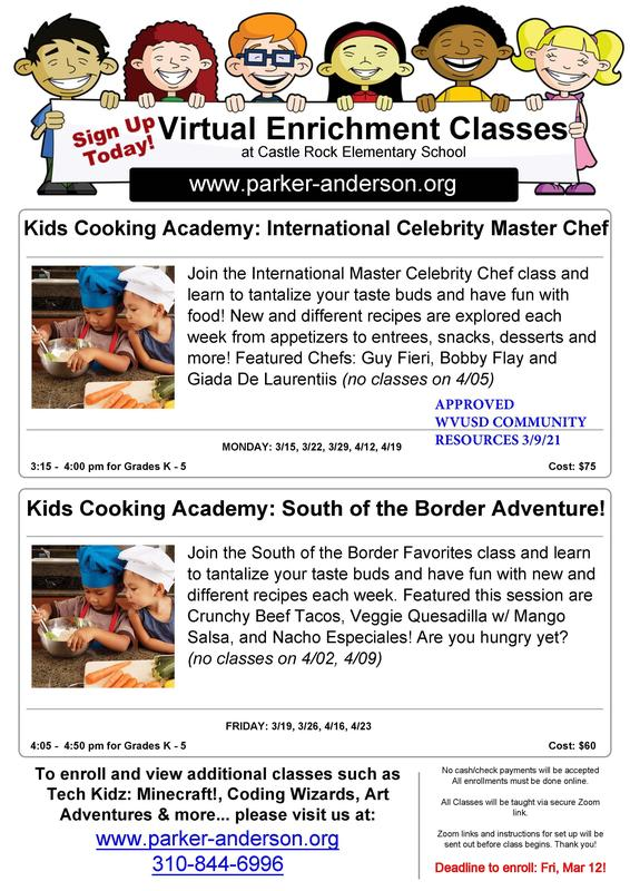 Kids Cooking Academy Featured Photo