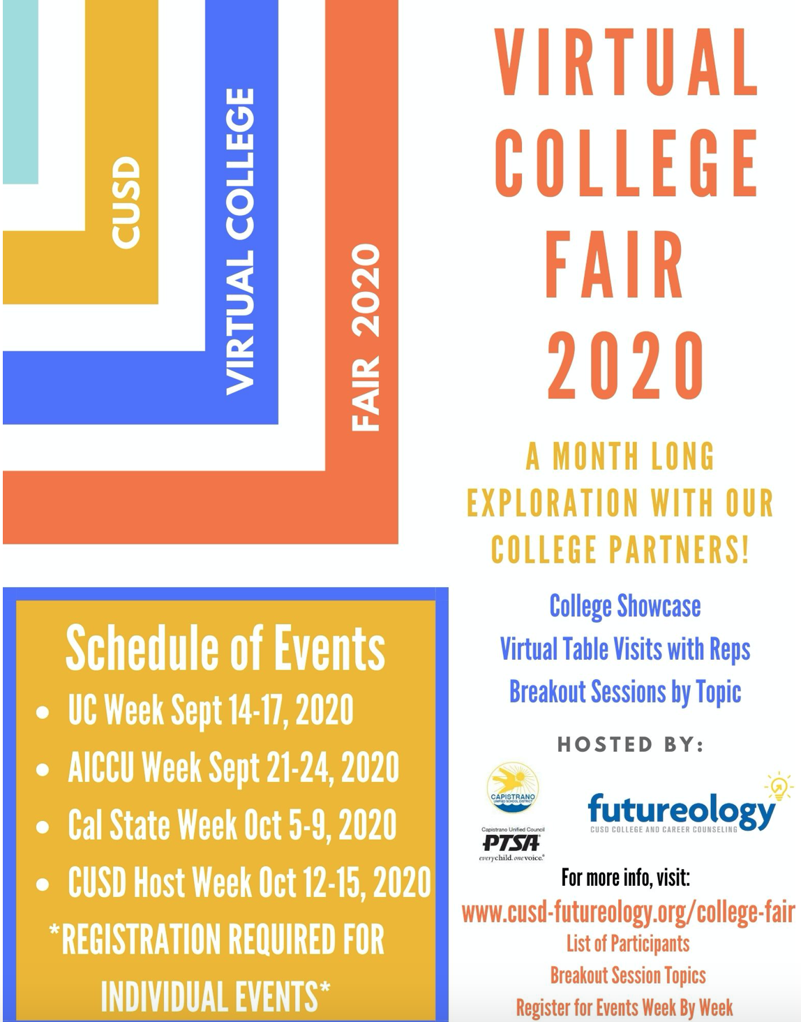 Virtual College Fair 2020