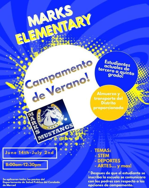 Summer camp Spanish