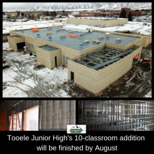 TJHS addition to be finished in August