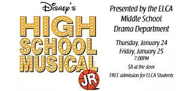 The Middle School Drama Department Presents High School Musical Jr. Featured Photo