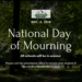 National day of Mourning Dec 5 2018