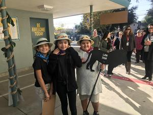 LeGore students show off their campus during the school's annual Leadership Day, a showcase for the Leader in Me program. The school has been named a Leader in Me Lighthouse School.