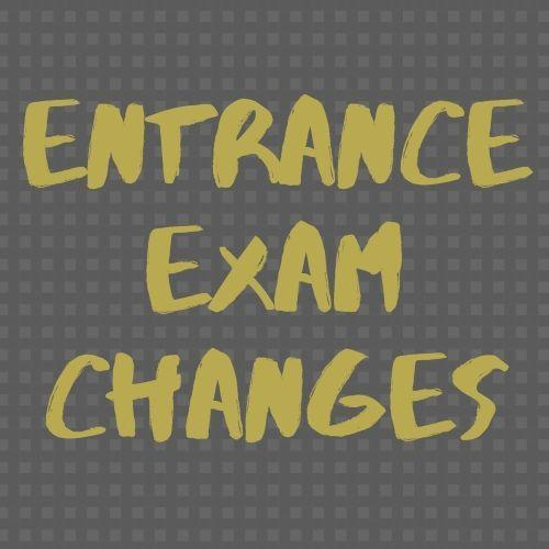 Need to make changes to the Entrance Exam option? Thumbnail Image