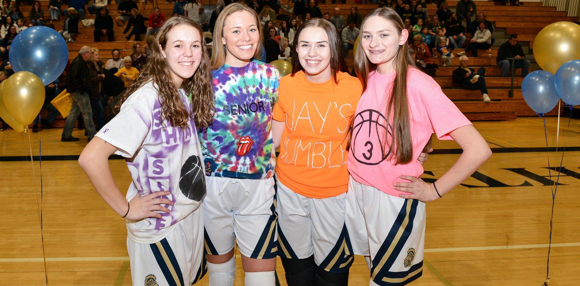 Girls' Basketball Seniors