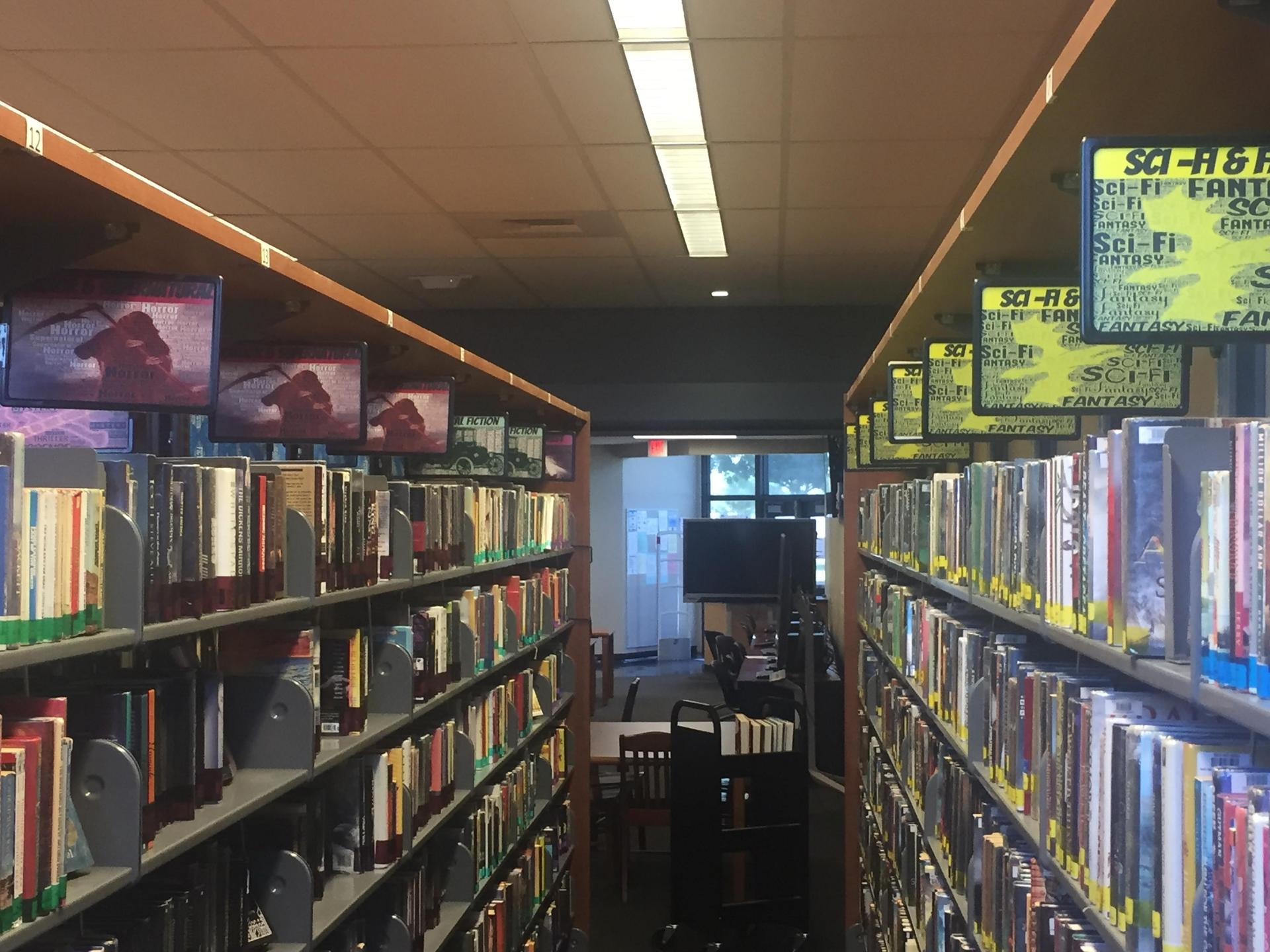 Genrefied Fiction Library
