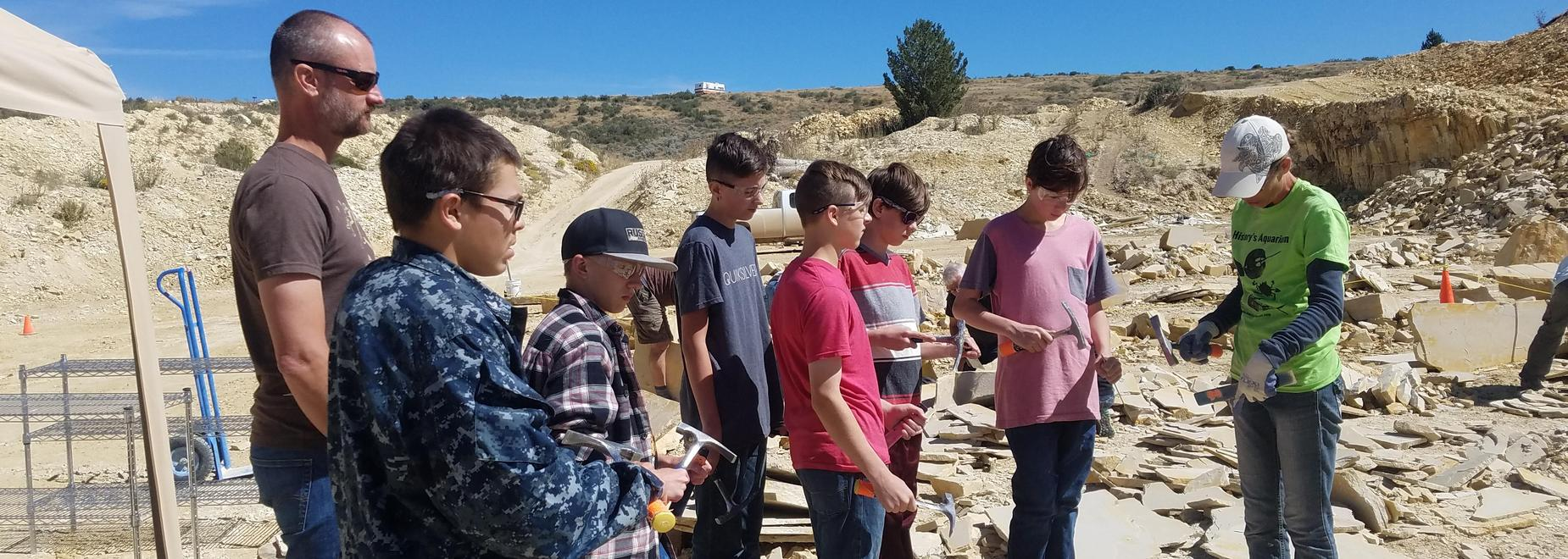 8th Grade Social Studies Class field trip