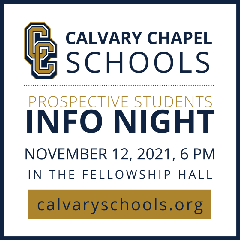 Info Night for Prospective Families - November 12, 2021 Featured Photo