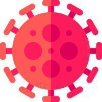 Illustration of COVID virus