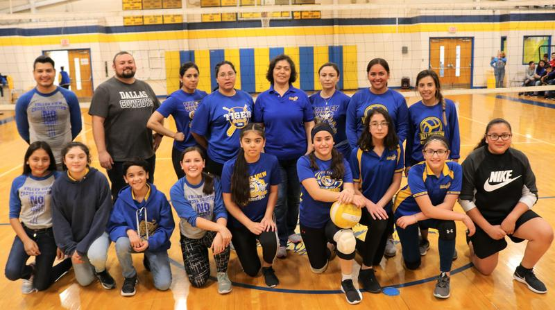 VVJH Staff Beat Students in Friendly Volleyball Matches Thumbnail Image