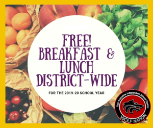 CEP Free Meal Logo