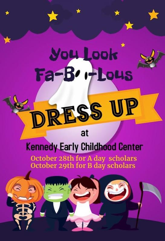 Dress up at Kennedy on Oct. 28 and 29