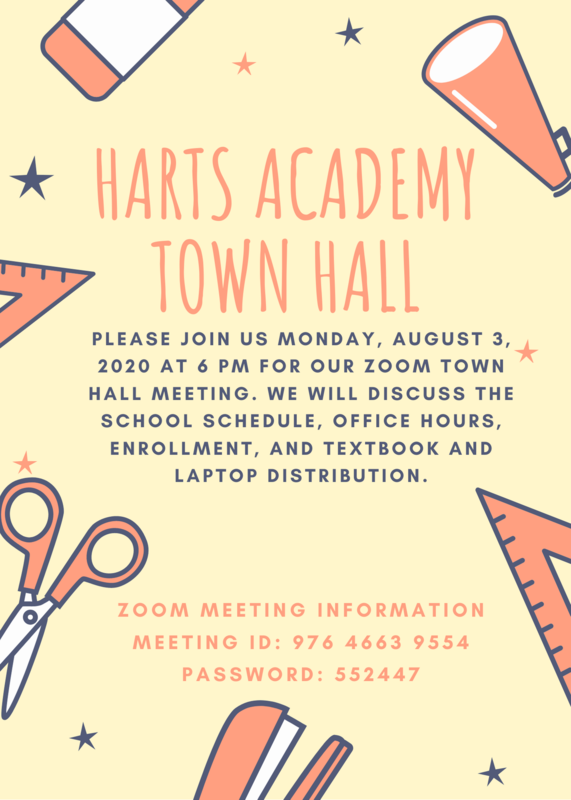 Town Hall Meeting this Monday, August 3, 2020 at 6:00pm! Thumbnail Image
