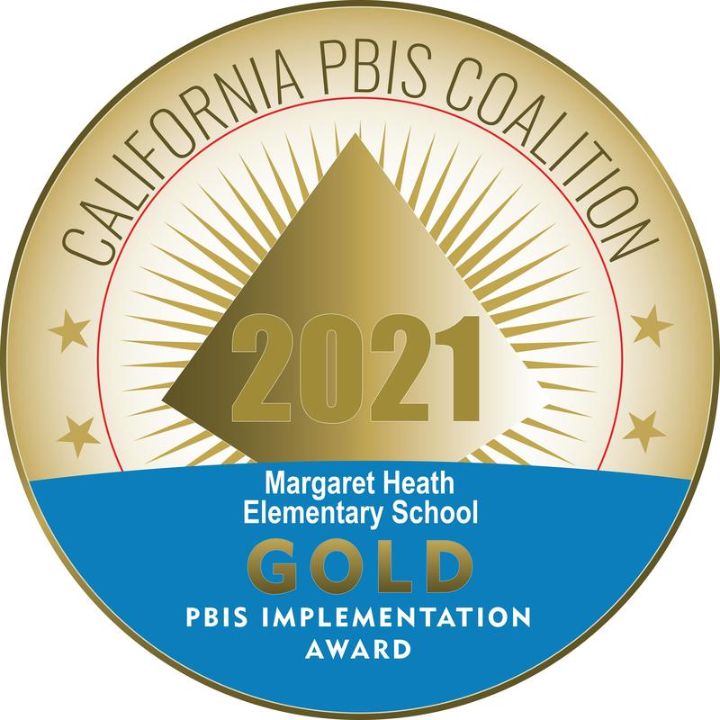 Margaret Heath Elementary and Olive Middle were honored with gold-level awards by the California PBIS Coalition.