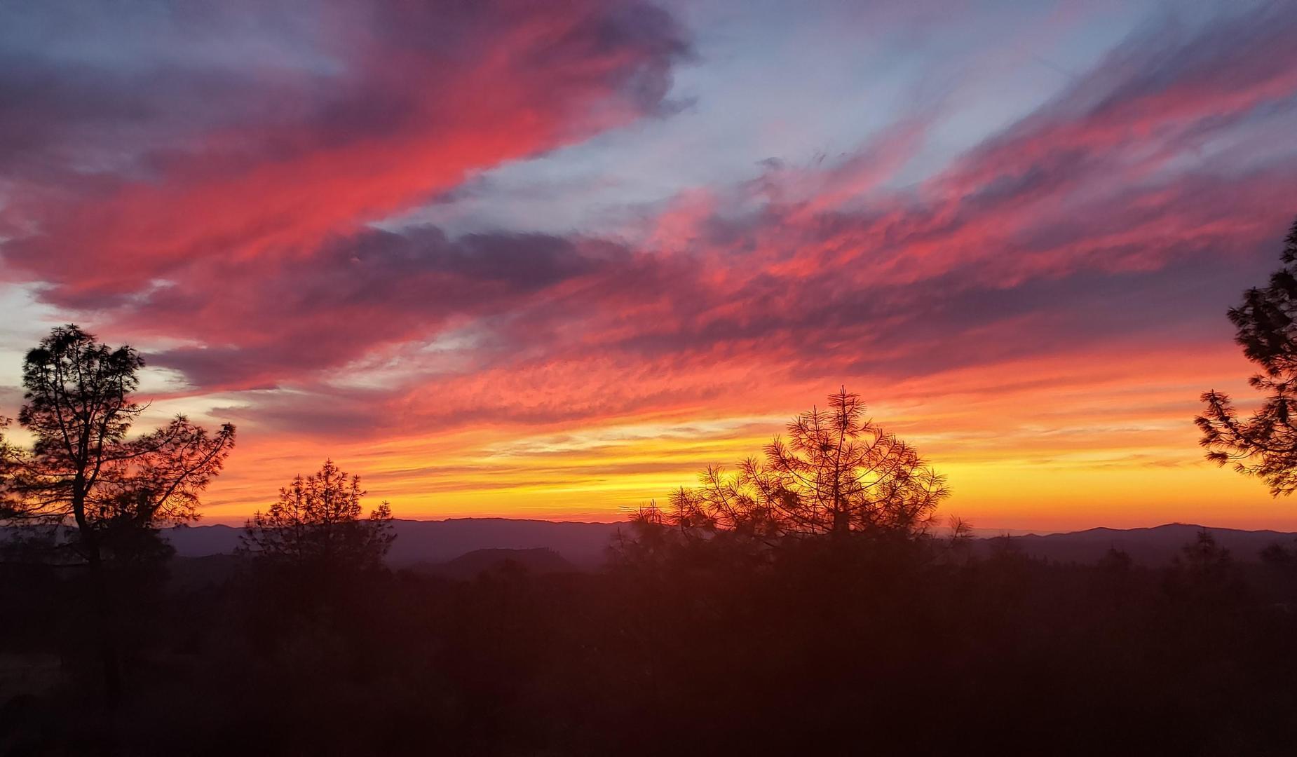Sunset over Murphys