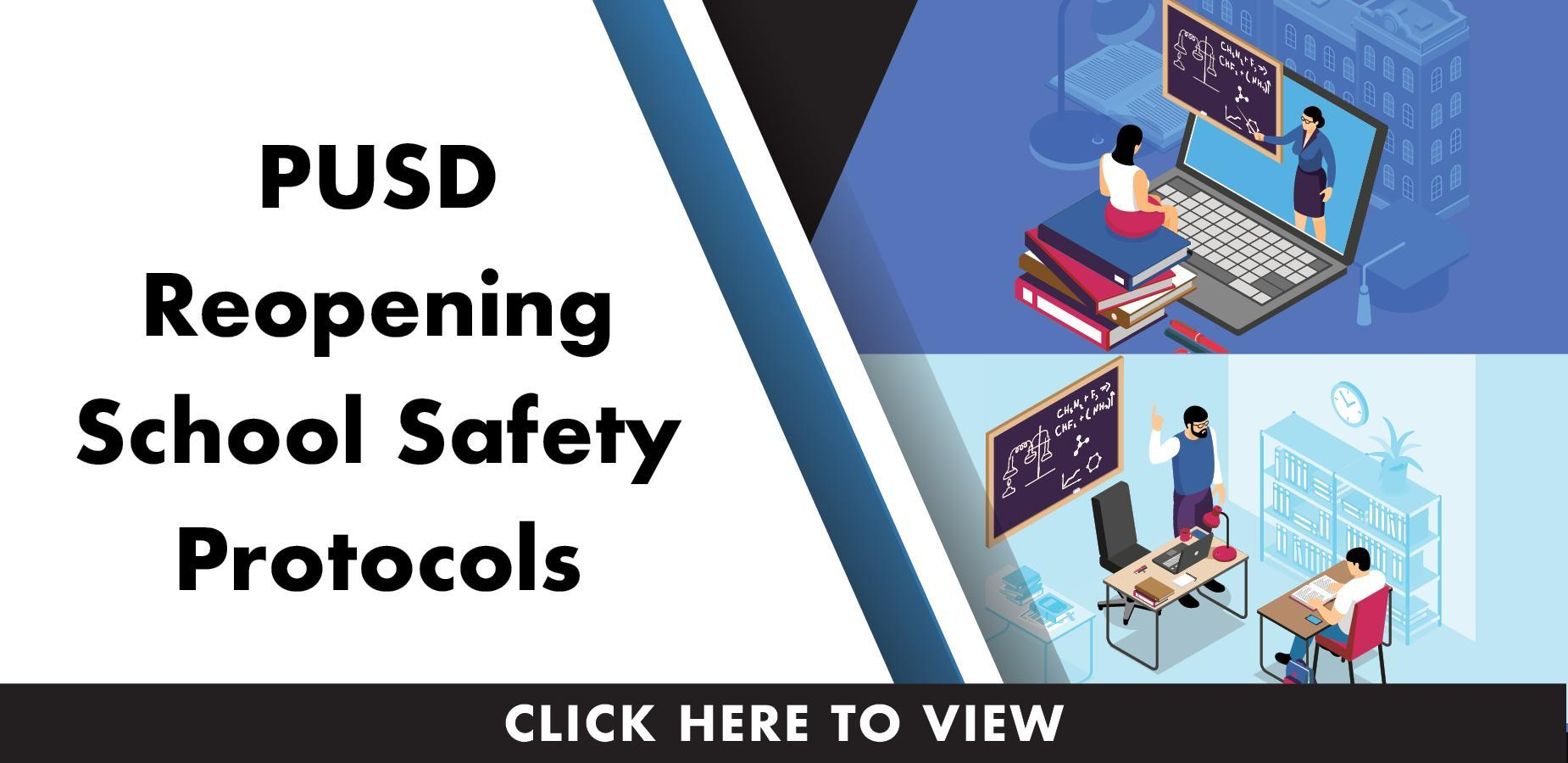 PUSD reopening school safety protocols