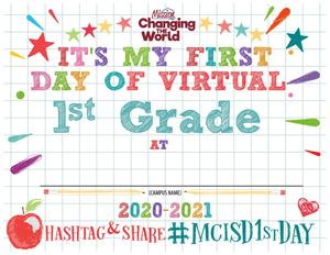 thumbnail of first grade sign