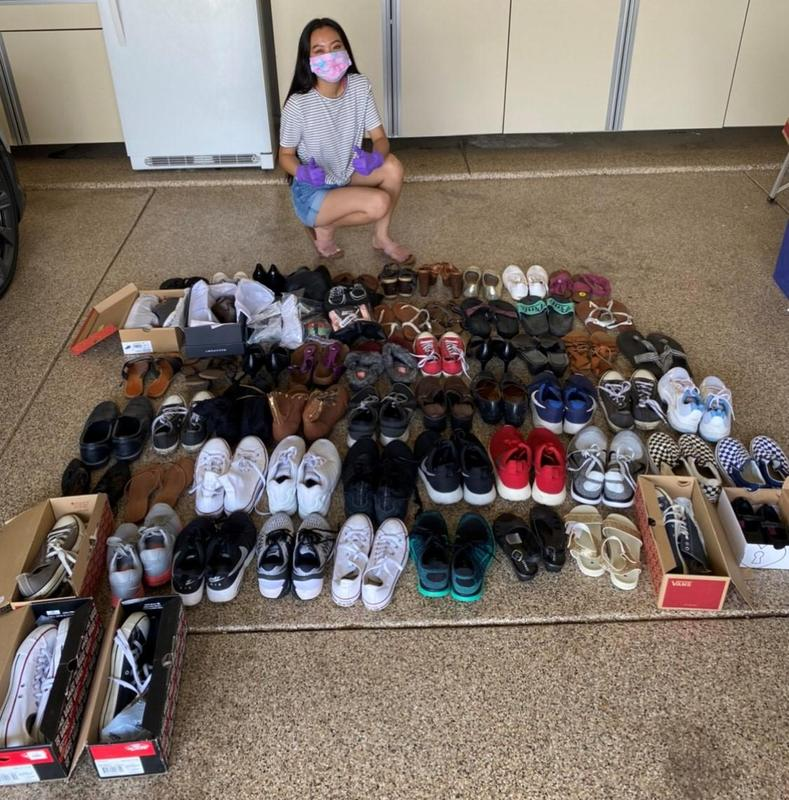 Frontier High School student starts shoe donation drive to help families less fortunate