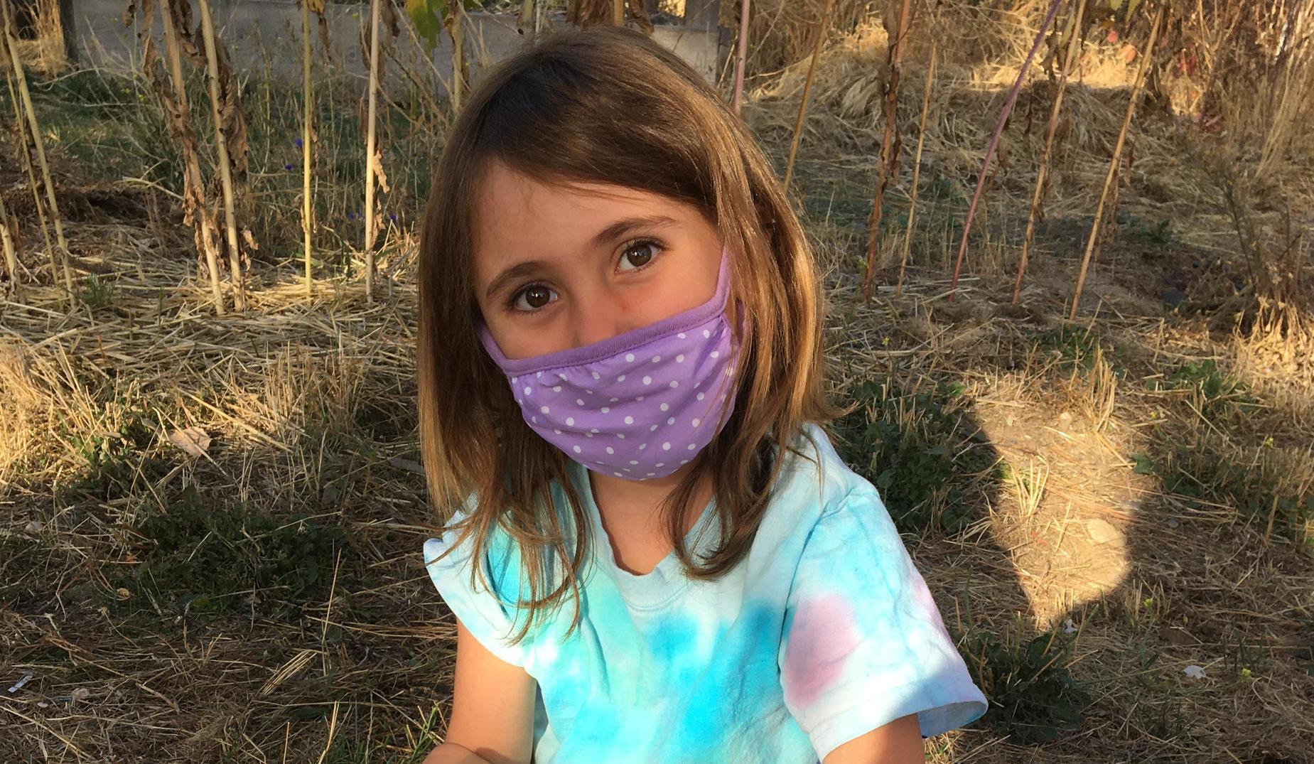 kid masked