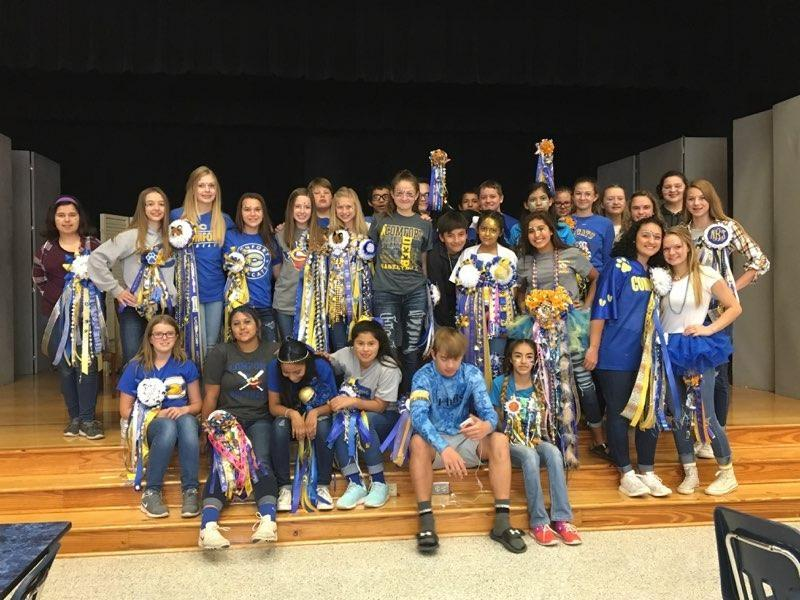 Blue Gold Dress-Up Day