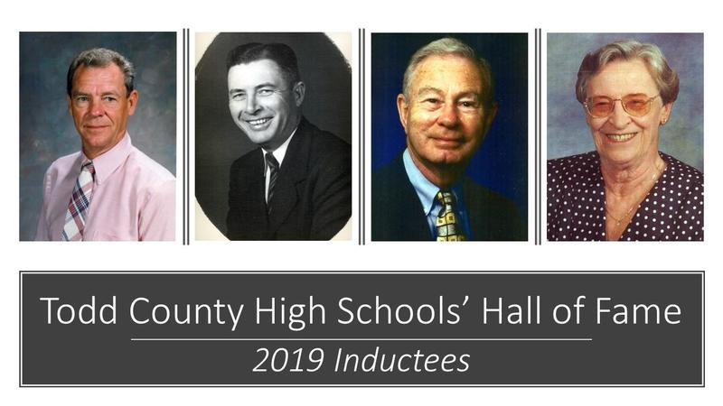 Todd County High Schools' Hall of Fame 2019 Inductees Featured Photo