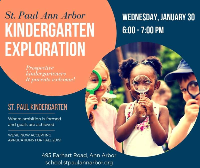 Kindergarten Exploration January 30, 6-7 PM Thumbnail Image