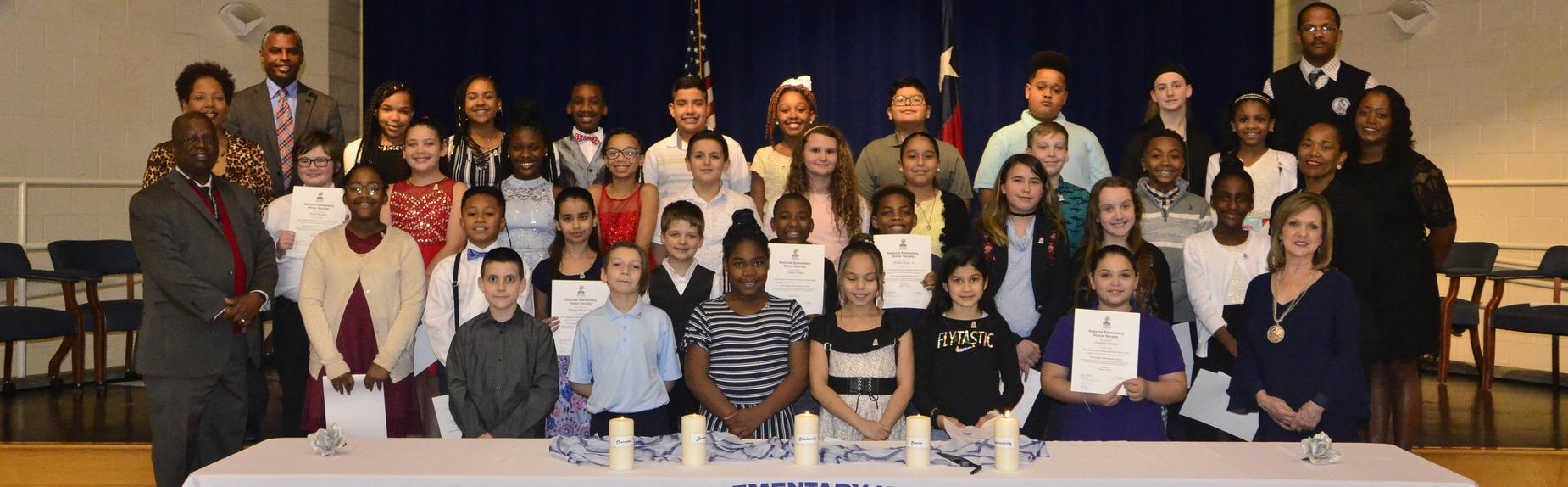 West Orange - Stark Elementary 2019 National Honor Society Members