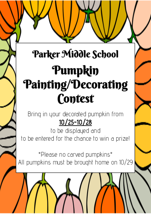 Pumpkin Painting/Decorating Contest! Featured Photo