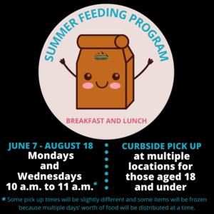 Summer Lunch Feeding graphic