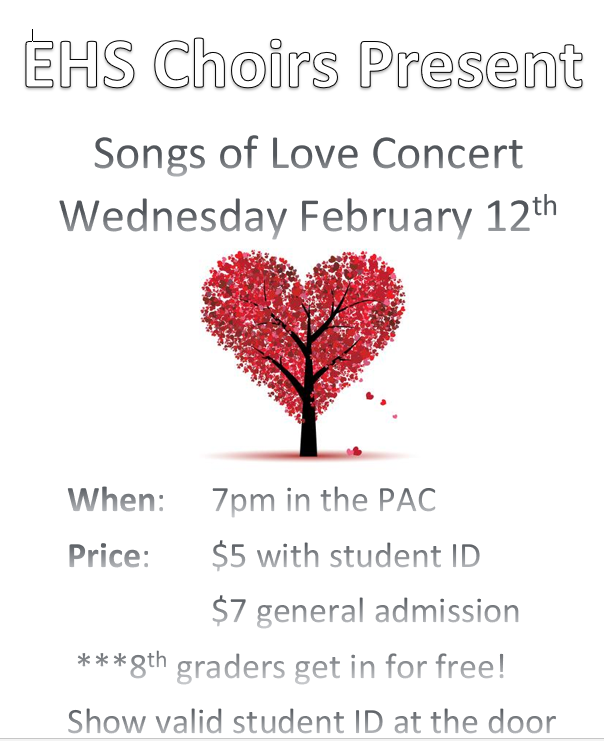Songs of Love Flyer